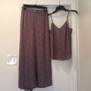 Floreat Anthropologie pajama